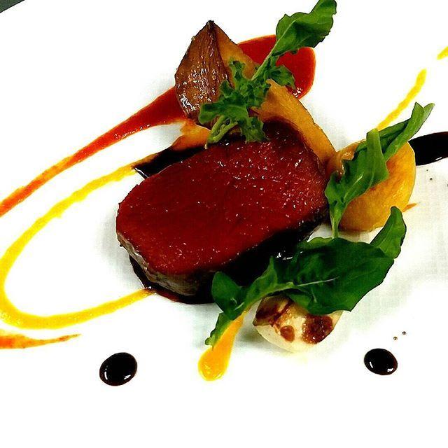 夏鹿 バルサミコとキャラメル #夏鹿#鹿肉#肉 #神戸#イタリアン#TN