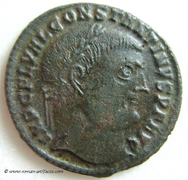 Imperial Rome, Constantine the Great    307 - 337 AD. AE-Follis of 313 AD.