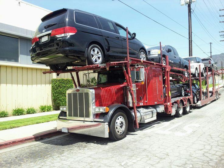 Car shipping open car carrier car carrier opening car