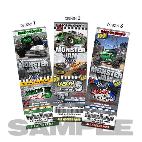 Best Monster Truck Tickets Ideas On Pinterest Monster Jam