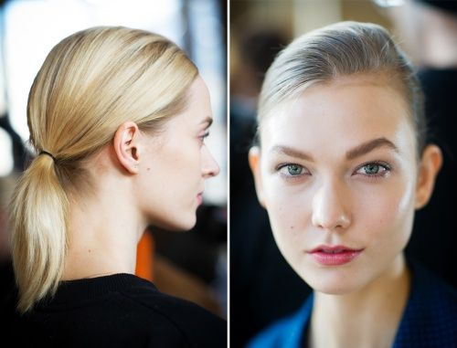 """Natural Selection: Stella McCartney's """"Boyish"""" Ponytails and Clean Skin - Vogue Daily - Vogue"""