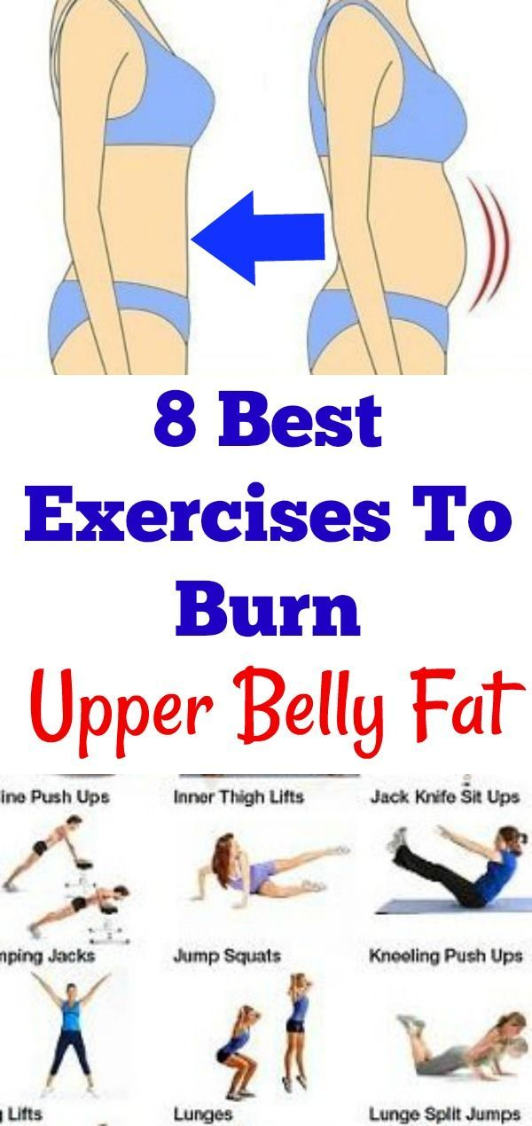 How To Get Rid Of Upper Belly Fat Without Exercise