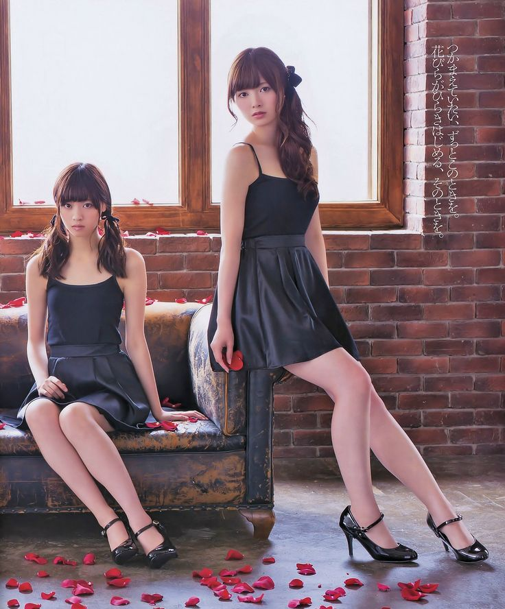 Nishino Nanase (西野七瀬) & Shiraishi Mai 白石麻衣 - #NGZK48 - #Nogizaka46 #idol #japan #jpop #beautiful #ace