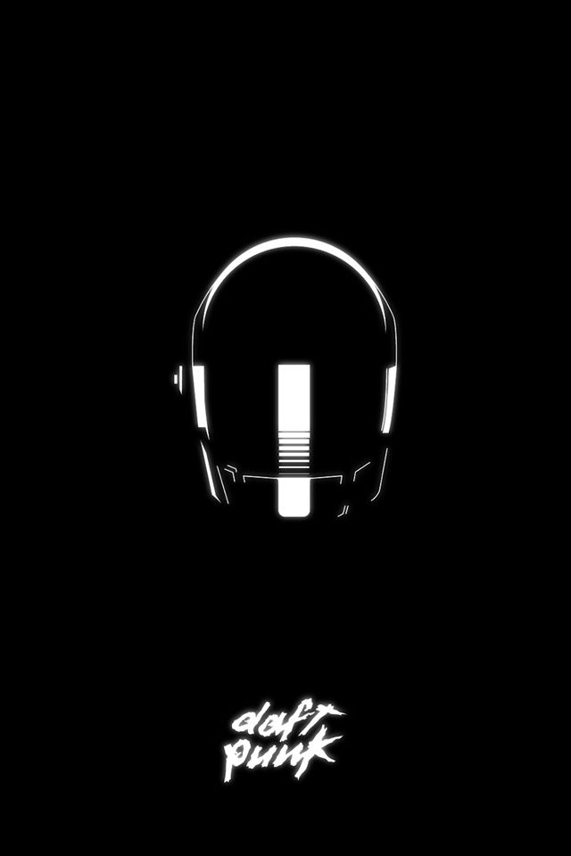 Abduzeedo's iPhone wallpaper of the week - Daft Punk
