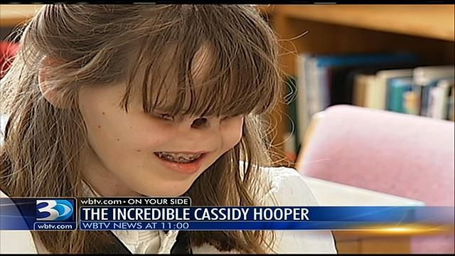 Teenager, born with no eyes and nose, shares secret of a joyful - WBTV 3 News, Weather, Sports, and Traffic for Charlotte, NC