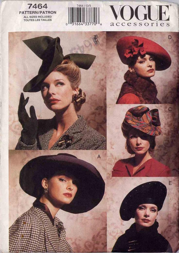 40's hats.