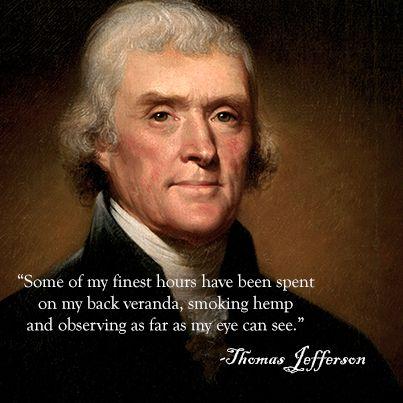 Thomas Jefferson on Marijuana