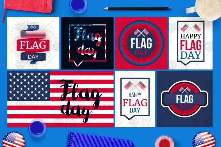 Flag Day Banners By Barsrsind Shop