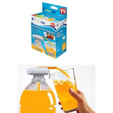Dozator automat Magic Tap. Fara lichide lipicioase pe podea! Vezi ACUM oferta noastra!