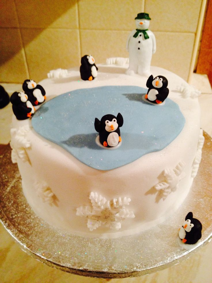 Christmas Cake Ideas Penguins : 25+ Best Ideas about Ice Skating Cake on Pinterest Ice ...