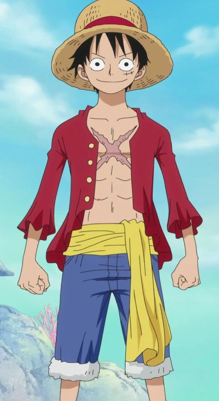 Nivel de iconicidad figurativo - Monkey D. Luffy