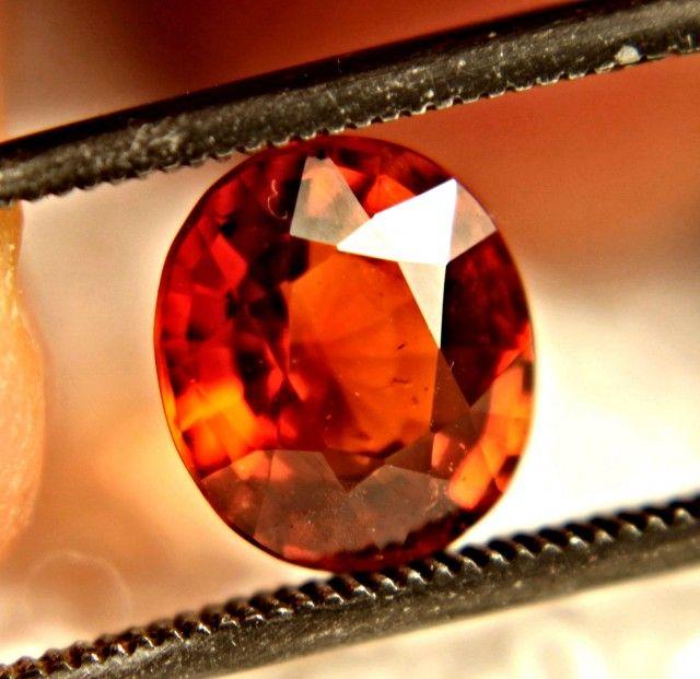 Spessartite Garnet 8.41 x 7.38 x 4.62mm 2.7 carats Auction #585571 Gem Rock Auctions