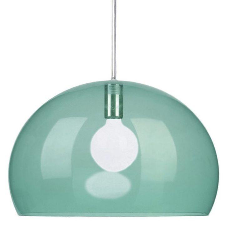 FL/Y taklampe, lysgrønn Kartell - Kjøp møbler online på ROOM21.no