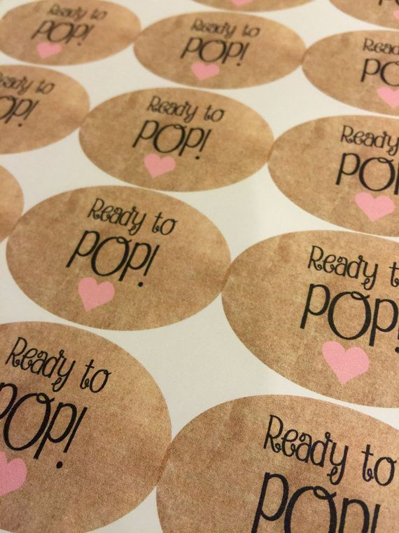 Ready To Pop Stickers. Custom Stickers. by CreativePaperShop