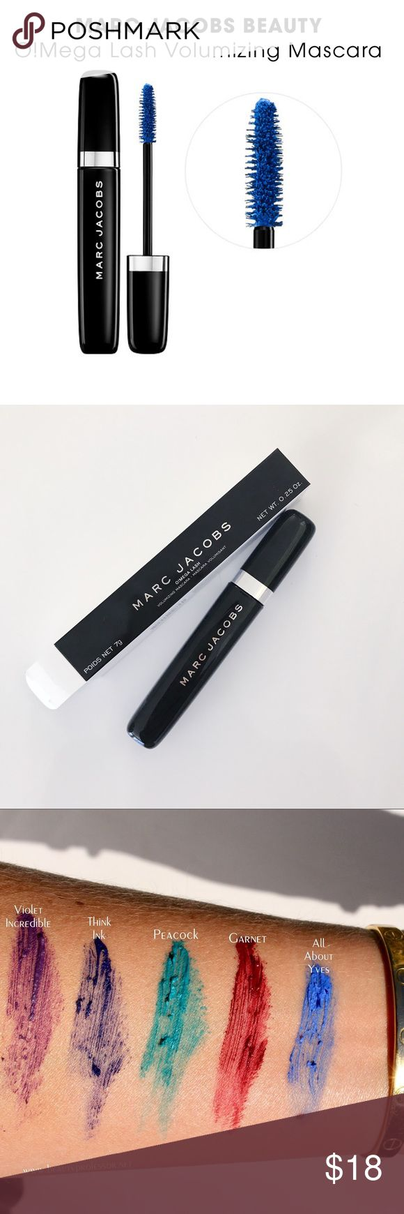Marc Jacobs O!Mega Mascara in All About Yves Brand New In Box Marc Jacobs O!Mega Lash Volume Mascara in All About Yves. Inspired by the famous Yves Saint Laurent Blue. Marc Jacobs Makeup Mascara