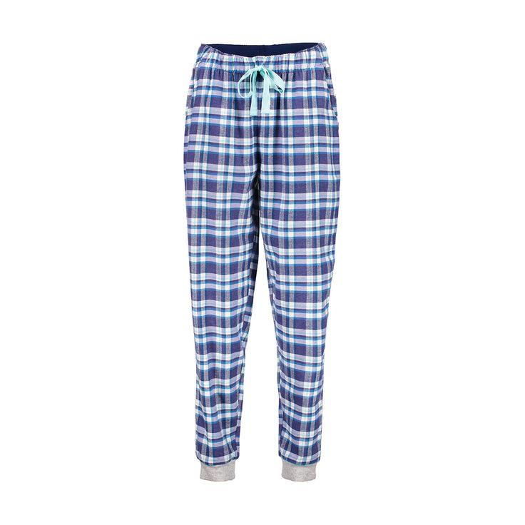 Cuffed Flannel Pants | Kmart