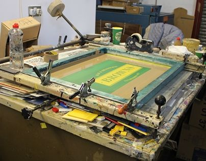 """Check out new work on my @Behance portfolio: """"Print Finishing Processes - Screen Printing"""" http://on.be.net/1Arc9yf"""
