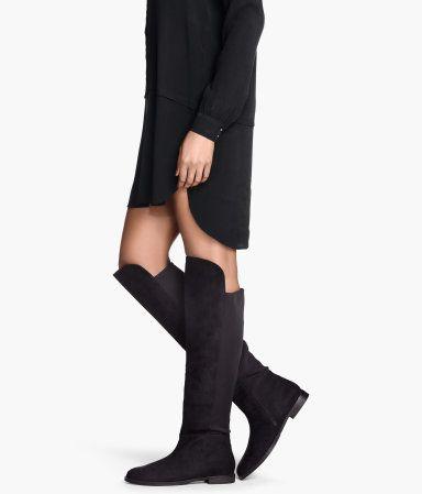 H&M - Kniehoge laarzen