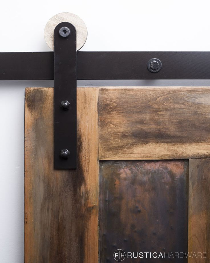 modern rolling door hardware wooden wheel style