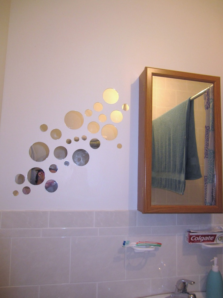 Guest Bathroom Mirror Bubbles | Home Sweet Home