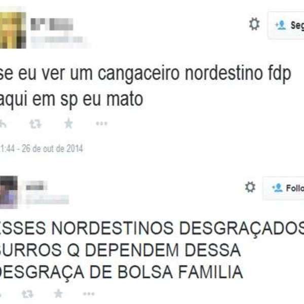 Perdoamos os paulista, eles não sabem o que elegem...  Quem elege Tiririca...  Nordestinos são hostilizados após vitória de Dilma Rousseff