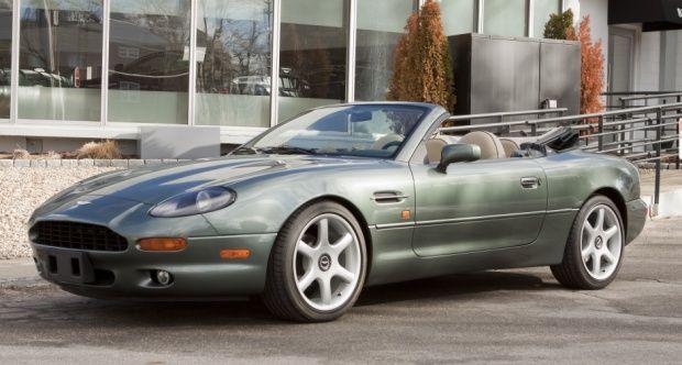 1998 Aston Martin DB7 - Volante - https://www.luxury.guugles.com/1998-aston-martin-db7-volante/