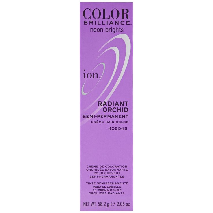 Ion Color Brilliance Semi Permanent Neon Brights Hair Color Radiant Orchid -- Read more reviews of the product by visiting the link on the image.