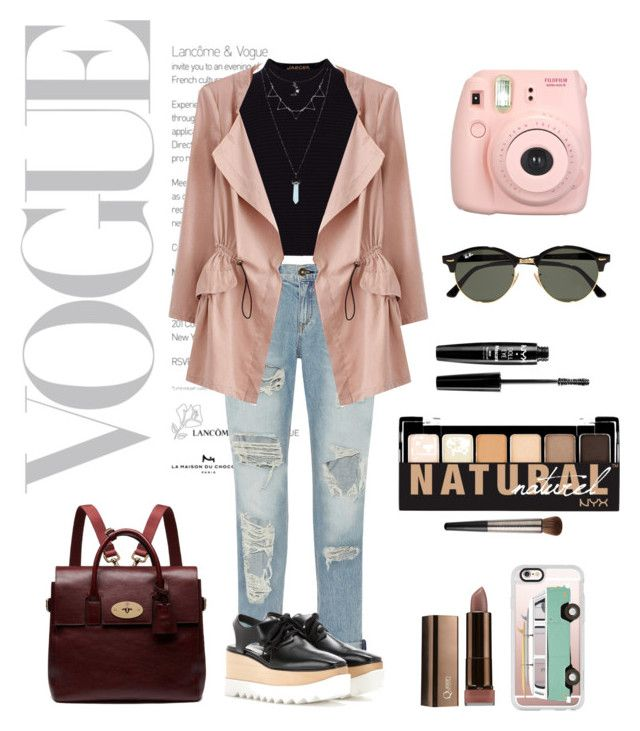 Untitled #39 by xjihye on Polyvore featuring polyvore, fashion, style, Jaeger, rag & bone, STELLA McCARTNEY, Mulberry, Fujifilm, Casetify, Ray-Ban, NYX, Urban Decay and clothing