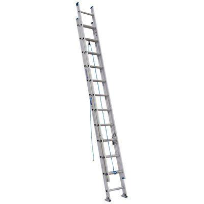 Werner 24-ft Type I Aluminum Extension Ladder