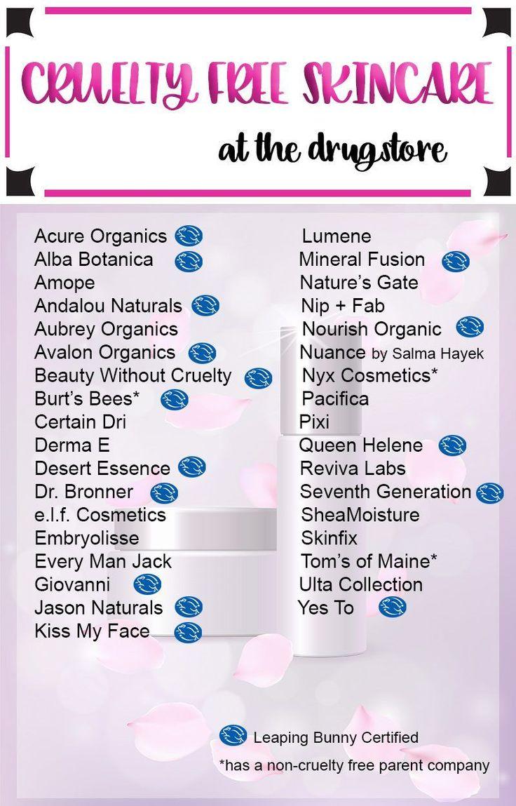 Cruelty Free Drugstore Skincare Brands Drugstore