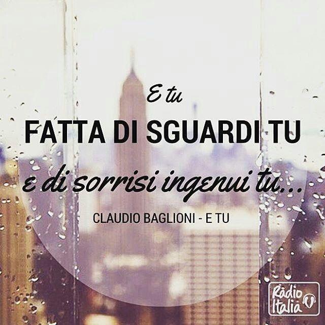 @Regrann from @radioitalia - Uno sguardo che vale mille parole... #claudiobaglioni #etu #canzone #radio #radioitalia #radioitaliatv #solocosebelle #solobuonamusica #solocosebuone #baglioni #buongiorno #musica #musicaitaliana #Regrann #italia #italy #italianissimo