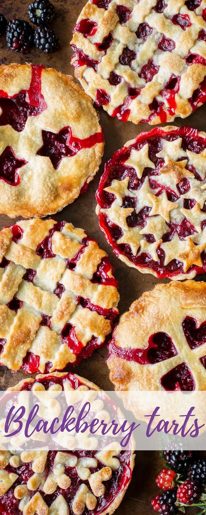 Blackberry Tarts Recipe Desserts Summer Pie Dessert Recipes