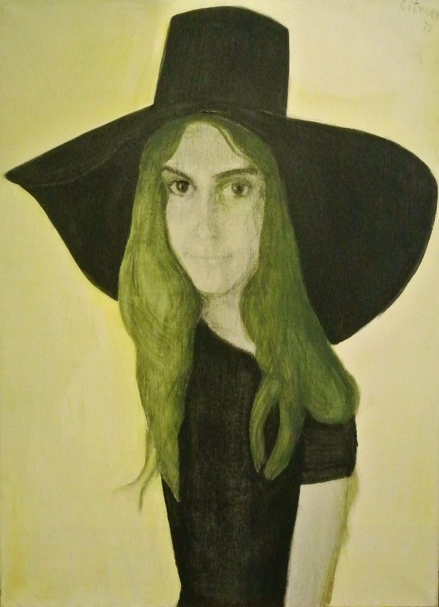 Portret van Marga, 1977, Paul Citroen (1896 - 1983): http://wp.me/p1emVu-3gD