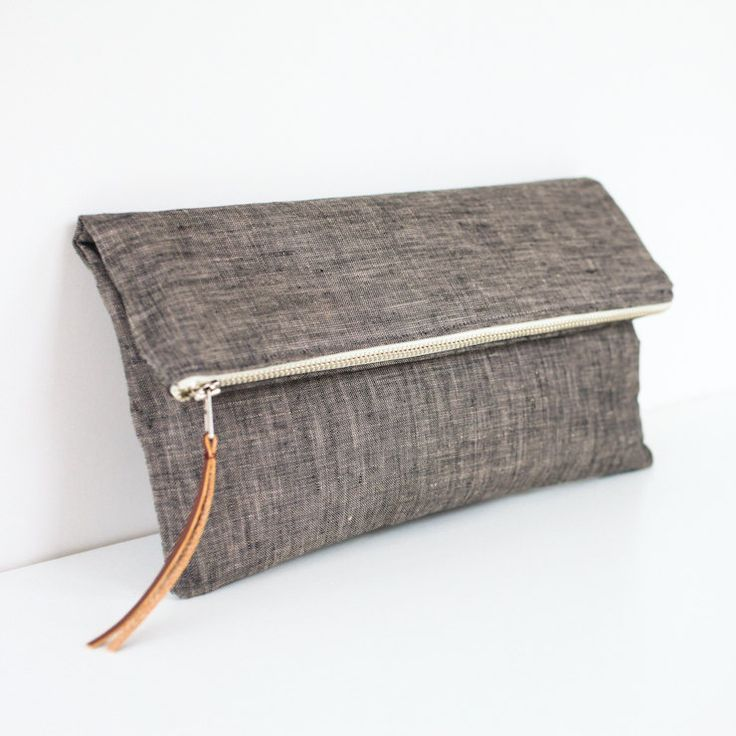 The Sydney Clutch in Charcoal | Brighter Day