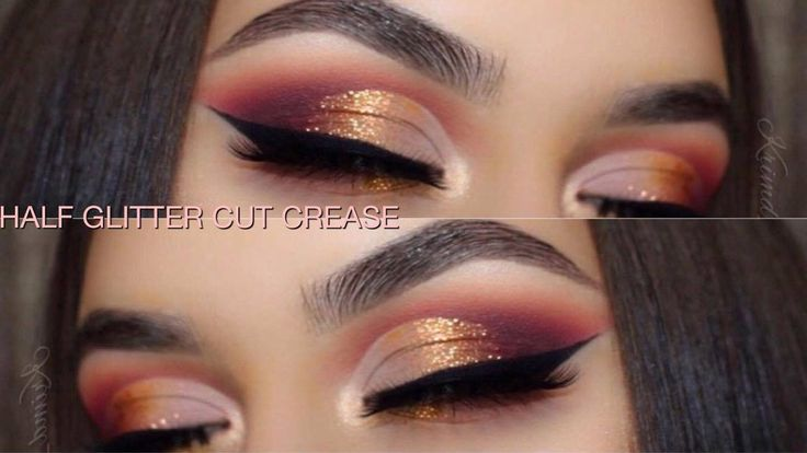 Warm Half Glitter Cut Crease | Violet Voss Holy Grail Palette