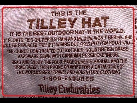 Tilley Hats  - The World's Best Outdoor Hat
