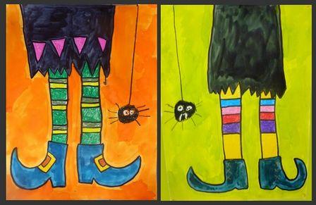 jambes de sorcières