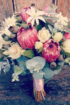 wedding native bridal bouquets and flowers adelaide - brides of adelaide magazine