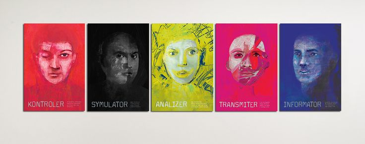 On the Web, a series of posters