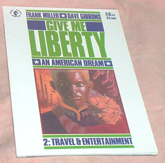 GIVE ME LIBERTY #2 from 4 Issue deluxe Mini-Series, Dark Horse Comics, by Frank Miller/Dave Gibbons, September, 1990, Fine+ by brotoys1 on Etsy