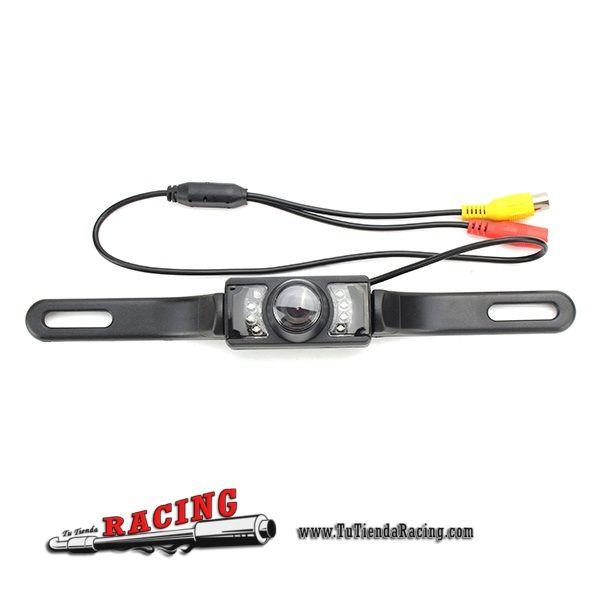 46,15€ - ENVÍO SIEMPRE GRATUITO - Kit Cámara de Aparcamiento Trasera Espejo Retrovisor Interior para Coche 4.3 Pulgadas TFT-LCD - TUTIENDARACING