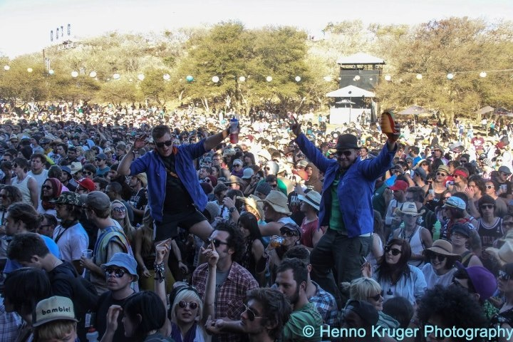 Crowd at Dance Youre On Fire @ Oppikoppi 2012 Sweet Thing