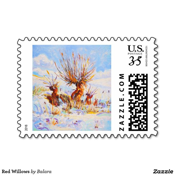 Red Willows Postage Stamp