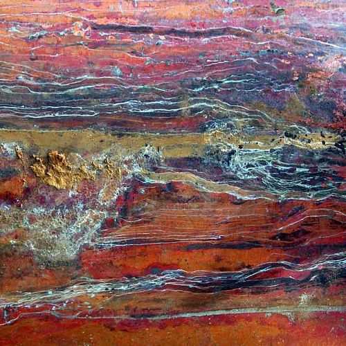 Le vieux cuivre a peint l'Arizona... / Arizona, painted by the old copper... / By Natasha Wheatland.