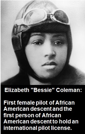 bessie coleman brave bessie essay Bessie coleman (january 26, 1892 – april 30, 1926)was an american civil  aviator she was the  brave bessie: first black pilot essence magazine  parts 1.