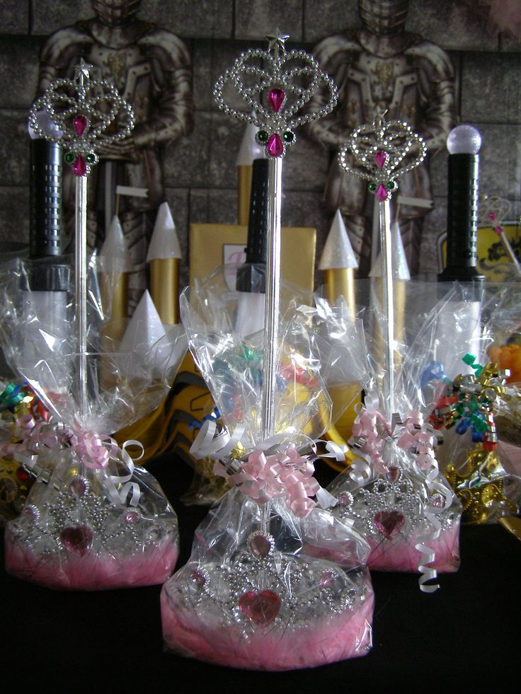A Royal Princess Wand and Tiara set is the perfect party favor. These Magical Wands and Tiaras will give every princess hours of fun imaginary play.