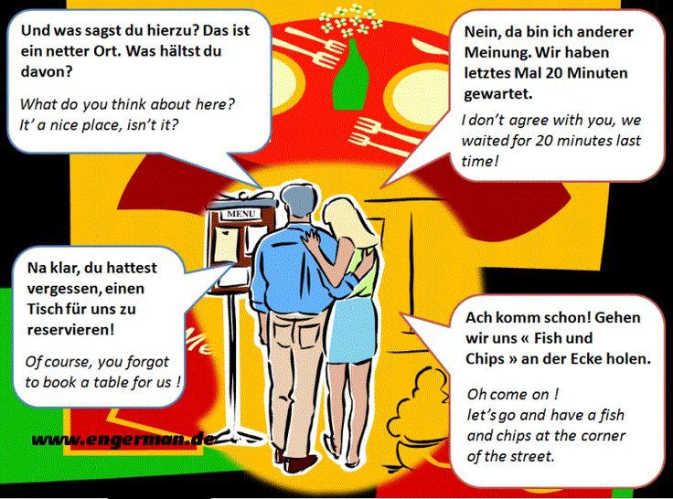German Conversations and Dialogues Part 6   L E A R N G E R M A N