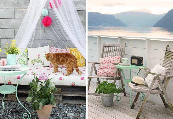 Inspiraci n para decorar terrazas y balcones mesas blog for Decoracion de terrazas y balcones