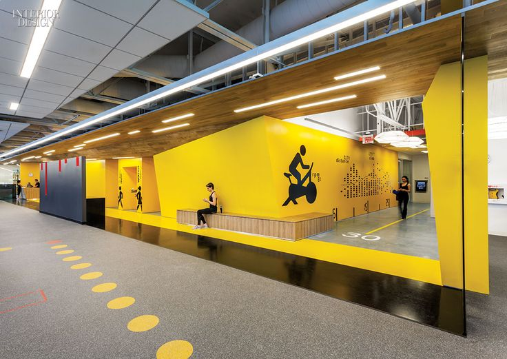 The Mountain View, California, campus of software company Symantec boasts a suitably high-tech fitness center, dubbed SYMfit. Photography by Emily Hagopian.