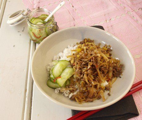 Svarta lådan -vardagsrätt med köttfärs och vitkål - Recept - Stowr
